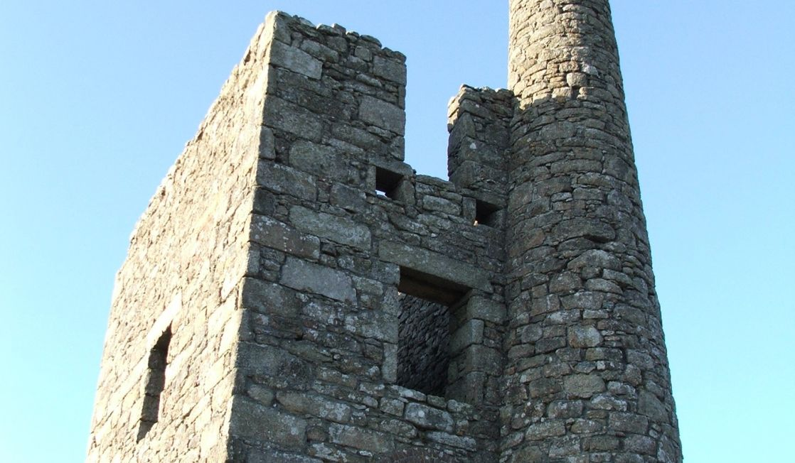 Greenburrow engine house, Penwith moors