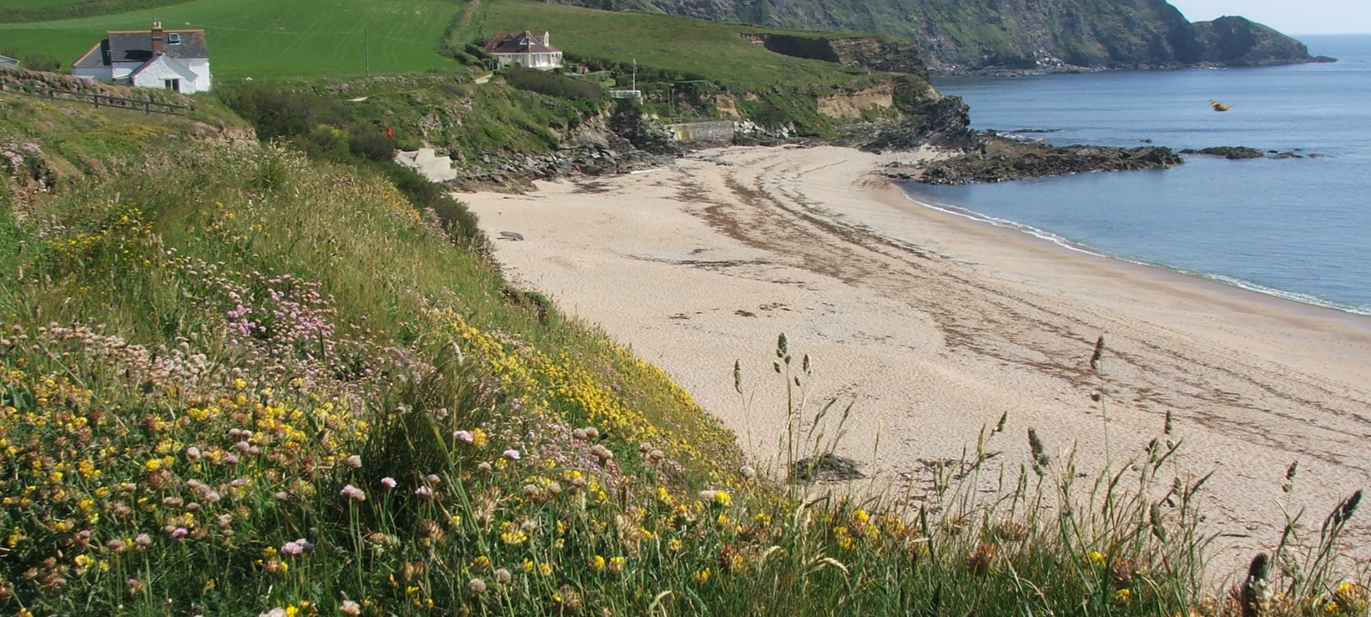 Gunwallow beach, Cornwall