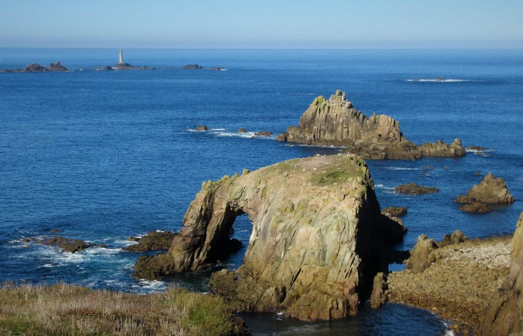 Land's End sea arch