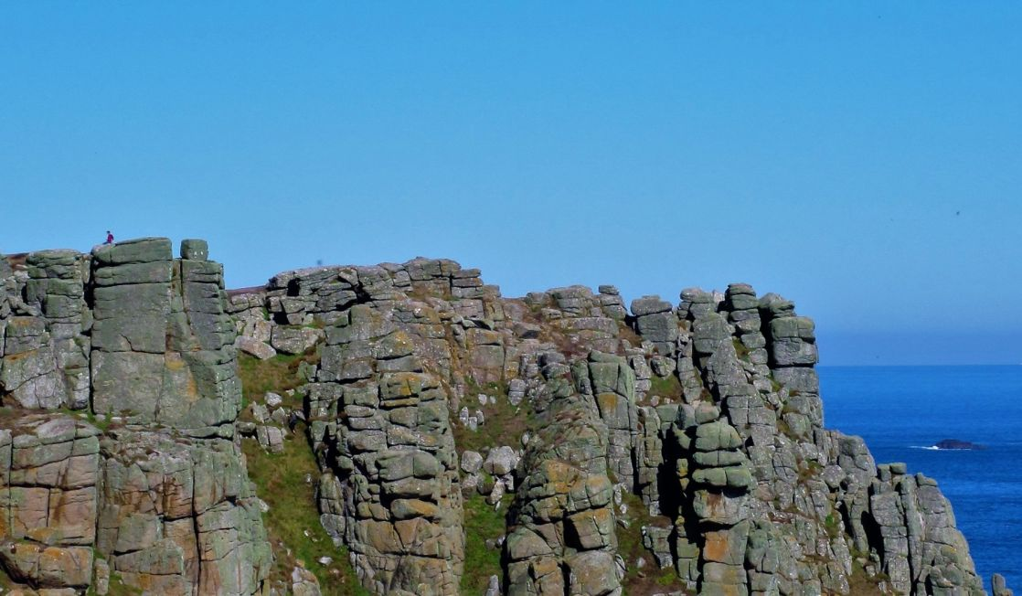 Land's End cliffs