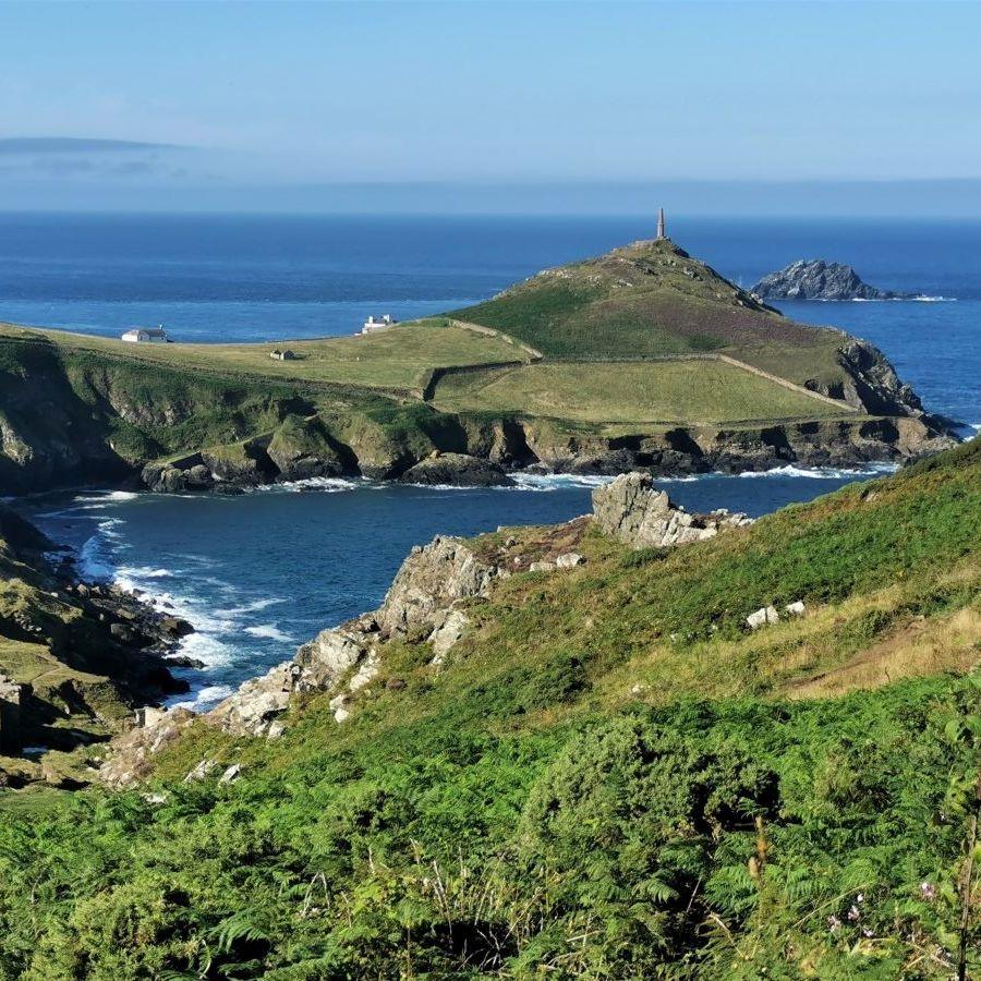 Cape Cornwall in the sun