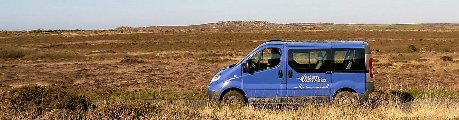 Western Discoveries vehicle on the moors