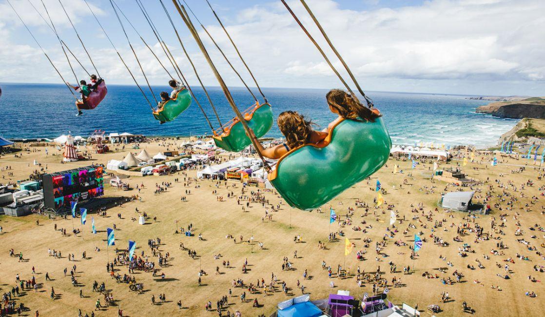 Newquay Boardmasters funfair ride