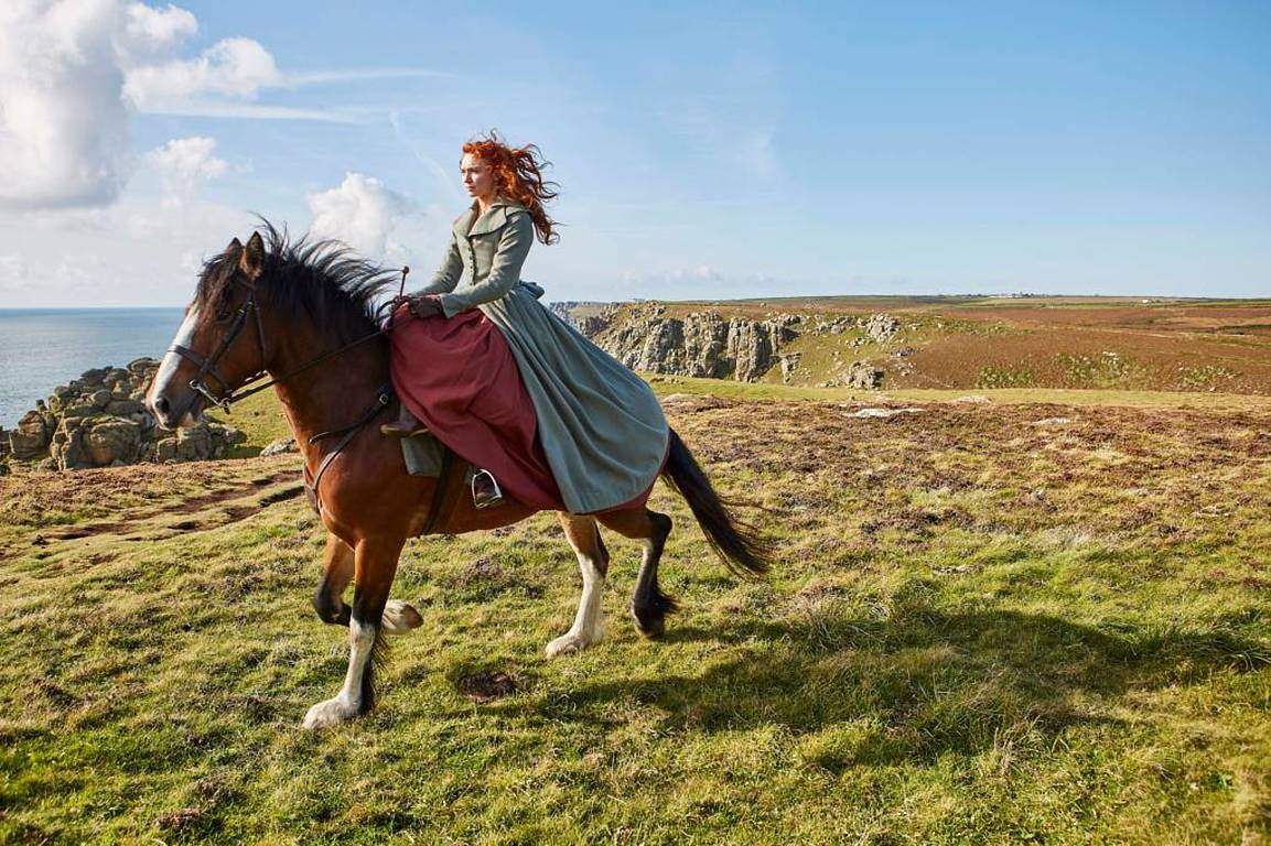 Demelza on horseback