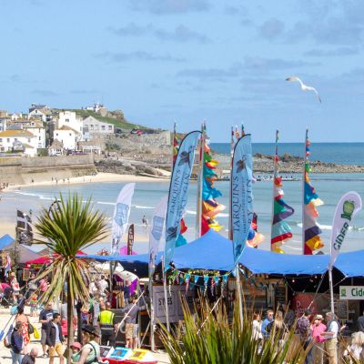 Porthminster beach food festival