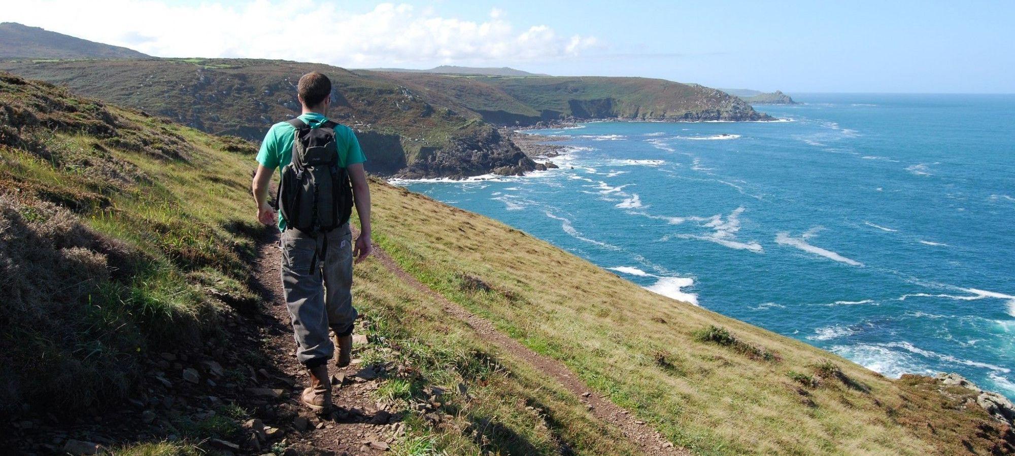 Walker in West Cornwall