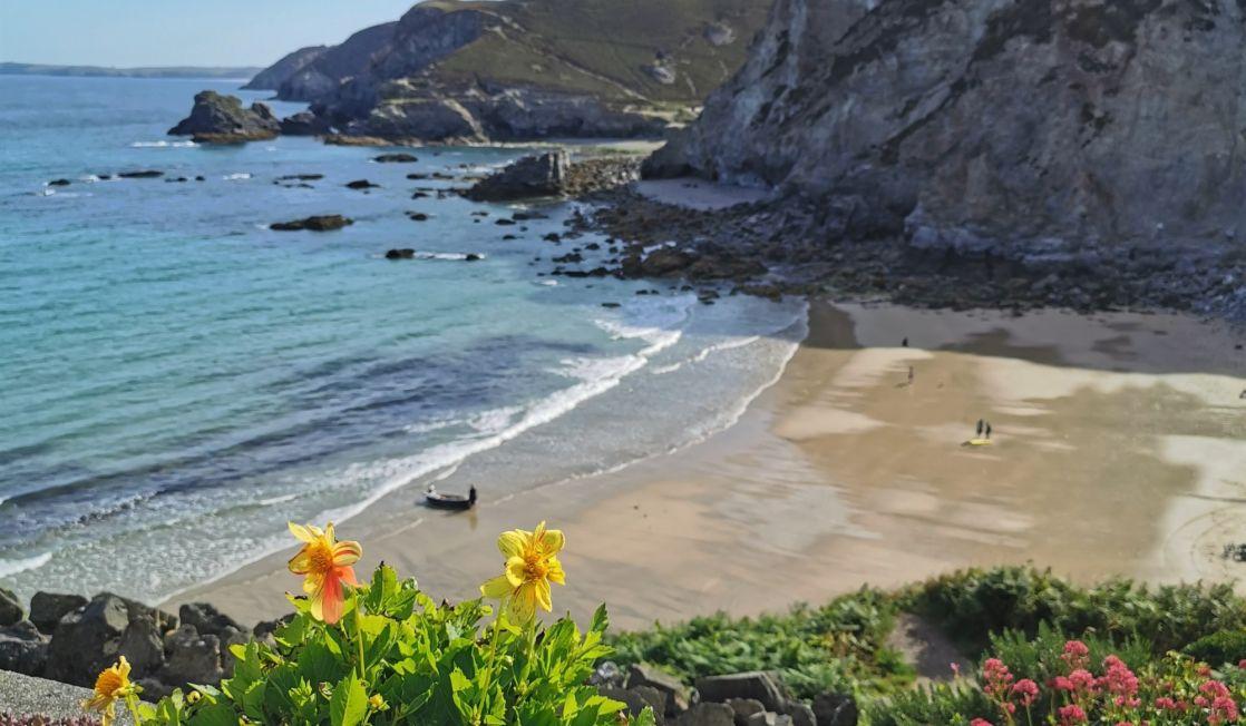 Trevaunance Cove. St Agnes