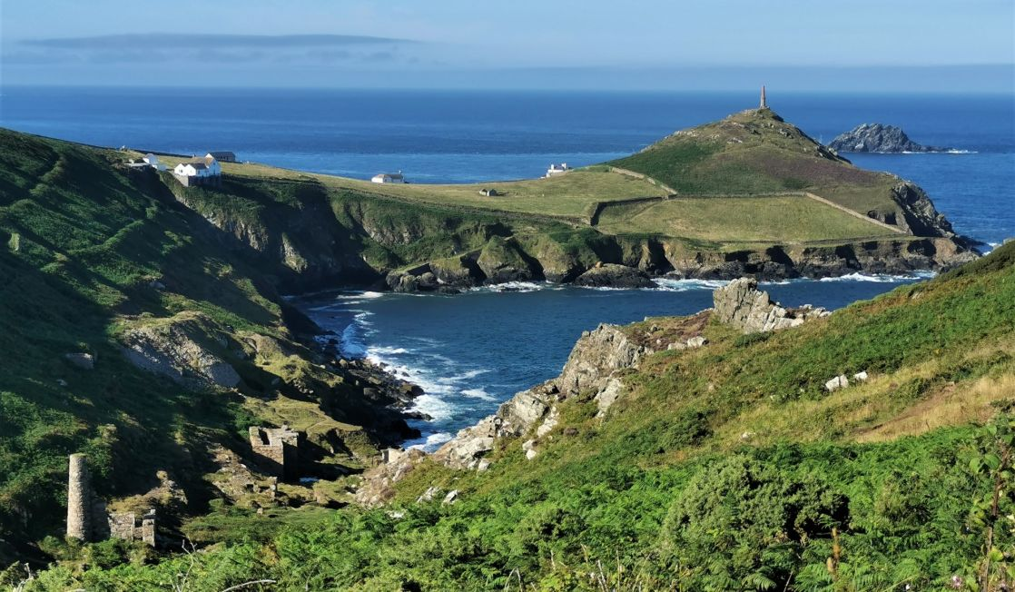 Cape Cornwall in the sun