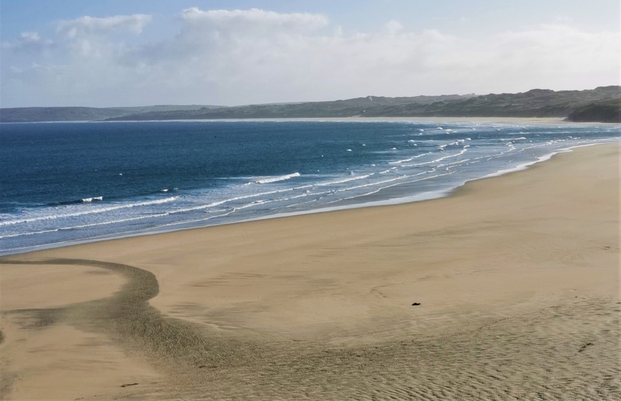 Porthkidney beach and Hayle River Mouth
